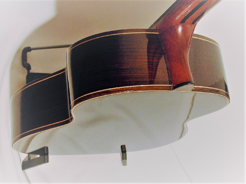Acoustic Baritone Indian Rosewood back and sides maple inlay